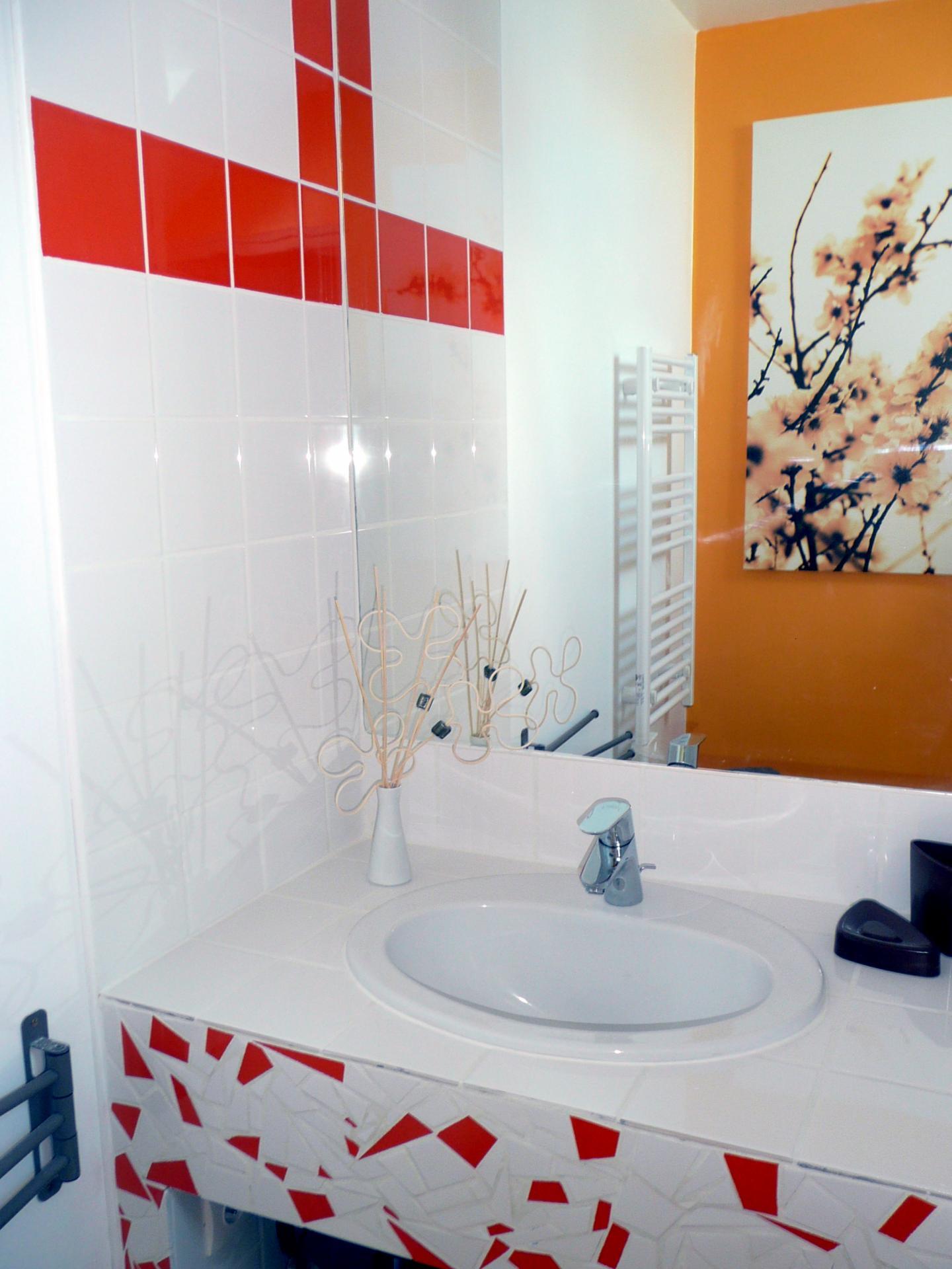 """La salle d'eau """"Au grenier, avec Monet"""""""