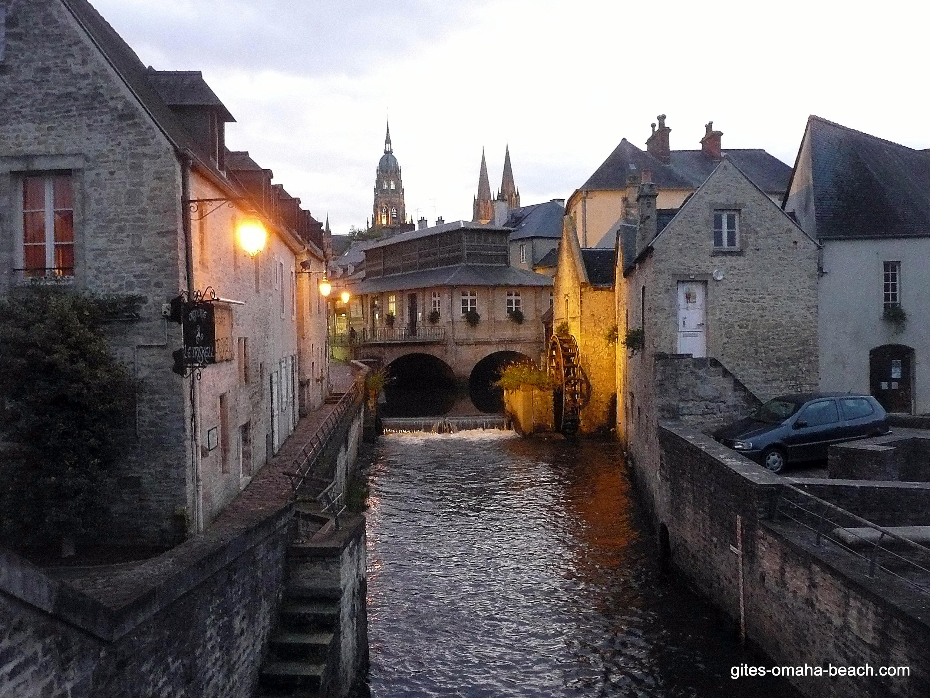 Bayeux, promenade le long de l'Aure