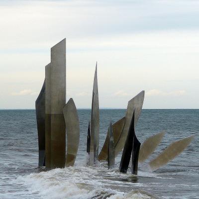 Les Braves, Omaha Beach, à marée haute