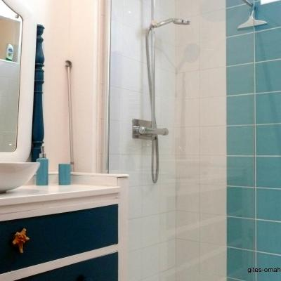 La salle d'eau de l''étage