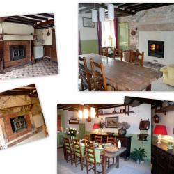 La salle à manger, avant/après